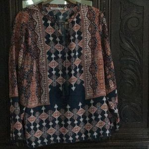 Violet & Clare new tunic blouse size L